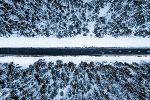 de-iced road roadcloud