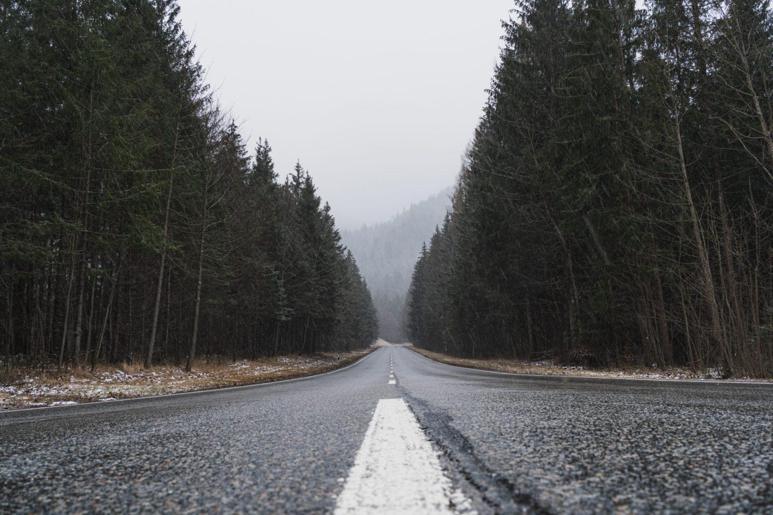 freezing rain road weather